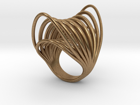Ring 003 in Natural Brass