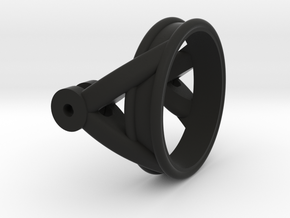 Kardanring1 in Black Natural Versatile Plastic