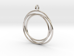 Interlaced Circles in Platinum