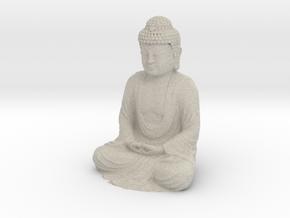 Buddha Sculpture - 50 mm in Natural Sandstone