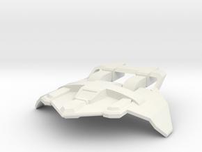 tatical 50mm in White Natural Versatile Plastic