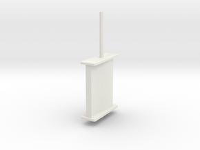schilling rudder springer v6 in White Natural Versatile Plastic