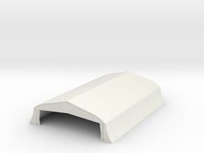 1/350 Bessonneau Hangar 2 in White Natural Versatile Plastic