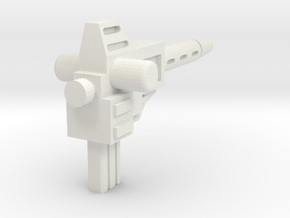 Sunlink - Prime: Running Amuck Cannon w/ 5mm Side  in White Natural Versatile Plastic