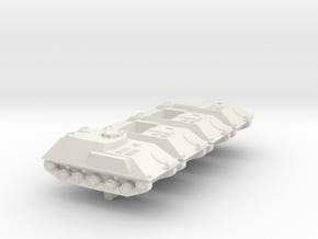 1/300 Bundeswehr HS30 variants in White Natural Versatile Plastic
