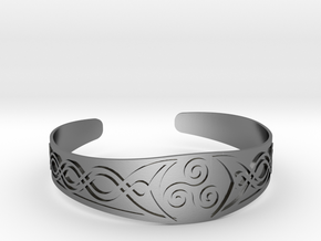 Bracelet Triskel in Polished Silver