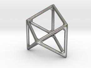octet truss primitive in Natural Silver