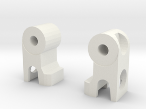 Miniature Figure Highheeled Legs in White Natural Versatile Plastic