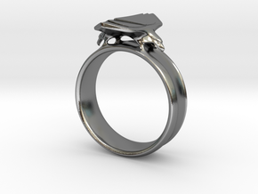 Eagle Ring Size 9 in Polished Silver