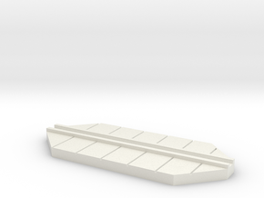 walkway  base cutaway in White Natural Versatile Plastic