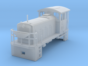 HOn30 PBR D21 Locomotive in Smooth Fine Detail Plastic