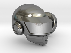 Thomas Cufflink - Right Sleeve in Polished Silver