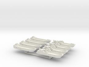 1/1800 LCT (2x4) in White Natural Versatile Plastic: 1:1800