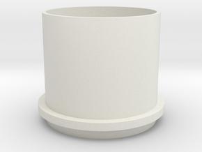 28mm EDF unit to suit 10mm inrunner in White Natural Versatile Plastic