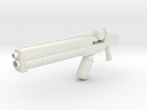 print gun in White Natural Versatile Plastic