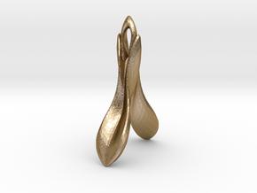 Flourish in Polished Gold Steel