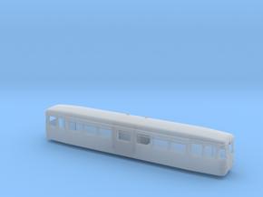 T1 Langeoog Spur H0m (1:87) in Smooth Fine Detail Plastic
