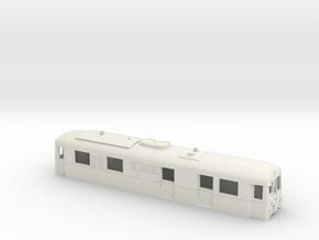 Schmalspurtriebwagen T3 der HSB (1:87) in White Natural Versatile Plastic