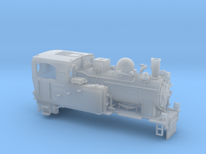 Schmalspurdampflok BR 996101 i H0m (1:87) in Smooth Fine Detail Plastic