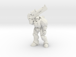 20mm Marine - War Pig  in White Natural Versatile Plastic