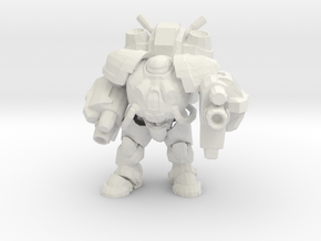 20mm Marines - Marauder  in White Strong & Flexible