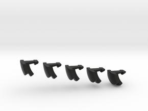 deeper cut nonagonal domino print 1 (2 of 2) in Black Strong & Flexible