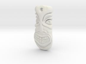 TikiPendant8s in White Natural Versatile Plastic