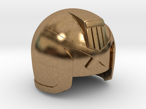 Judge Helmet in Natural Brass