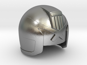 Judge Helmet in Natural Silver