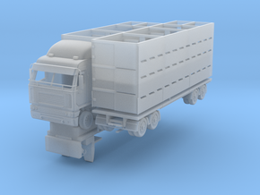 1:87 truck and trailer in Smooth Fine Detail Plastic