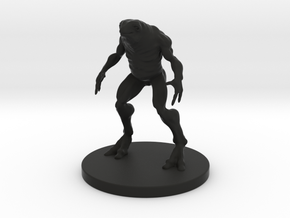 1 Inch Frog-like Man in Black Strong & Flexible