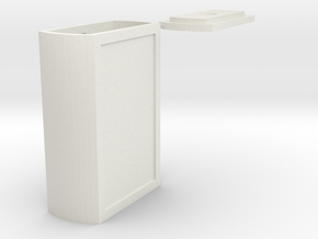 arduino case B in White Natural Versatile Plastic