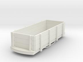 55n9 bogie gondola car in White Natural Versatile Plastic
