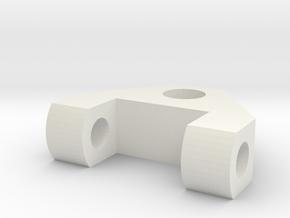 logitech C910 webcam mount on 6mm bolt (tripod) in White Natural Versatile Plastic