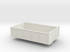 1:43 Atkinson SWB Tipper Body in White Natural Versatile Plastic