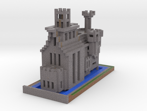 Cathedral of the Damned via Mineways! in Full Color Sandstone