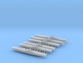1/2400 UKCV Illustrious(x4) + KMCV GrafZeppelin(x2 in Smooth Fine Detail Plastic