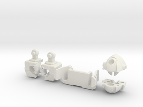 Wrecker Ironfist Kit - Bullet Hole in White Natural Versatile Plastic