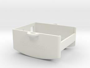 AirCasting Air Monitor Cover in White Natural Versatile Plastic