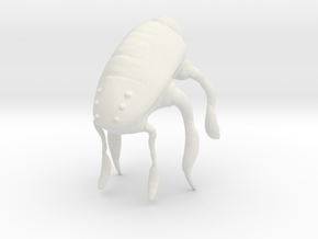 INSECT 1 in White Natural Versatile Plastic