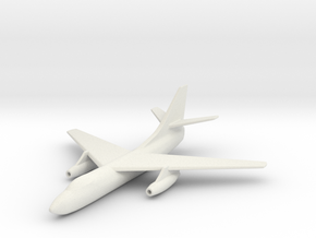 1/285 (6mm) Scale A3D Skywarrior   in White Natural Versatile Plastic