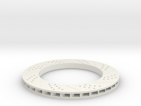 brake disk part 3 (repaired) in White Natural Versatile Plastic