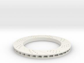 brake disk part 3 (repaired) in White Natural Versatile Plastic