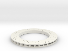 Brake Disc (Part 1) in White Strong & Flexible