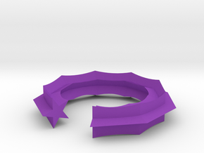 Swept Away: Stargap in Purple Processed Versatile Plastic