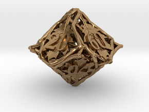 Botanical Decader Die10 (Oak) in Natural Brass