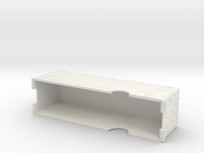 V 1 SPECIALITY TRANSPORTMOD in White Natural Versatile Plastic