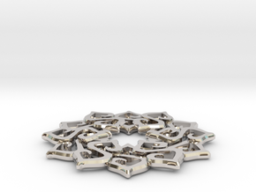 Nimyade Star Pendant in Platinum
