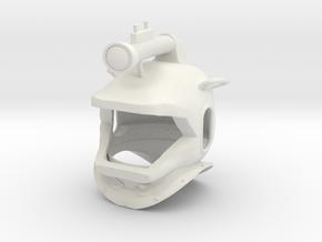 nautilus helmet in White Strong & Flexible