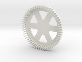 LED Ring in White Natural Versatile Plastic